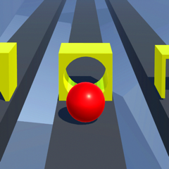 Race Road: Color Ball Star 3D
