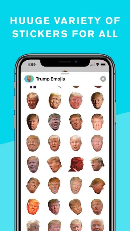 Trump Stickers and Trumpmoji screenshot-7
