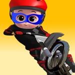 Tag With Boy Bike