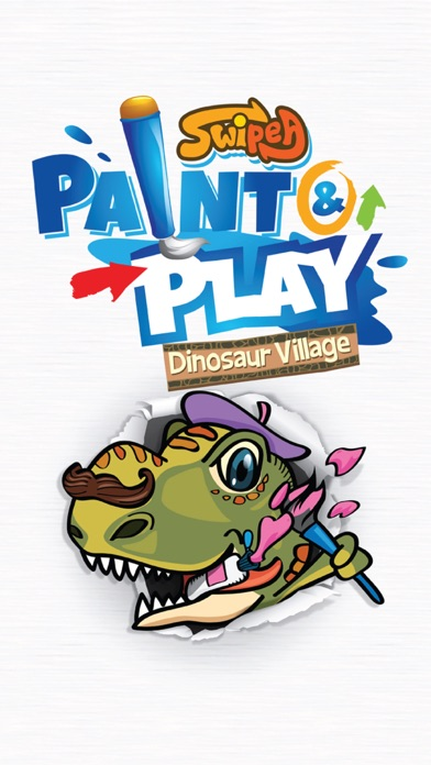 Paint & Play: Dinosaur Train