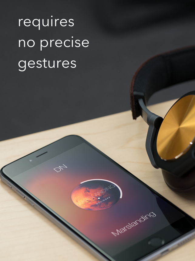 ‎Listen: Gesture Music Player Screenshot