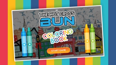 Screenshot for The HotCrossBun Coloring Pages in United States App Store
