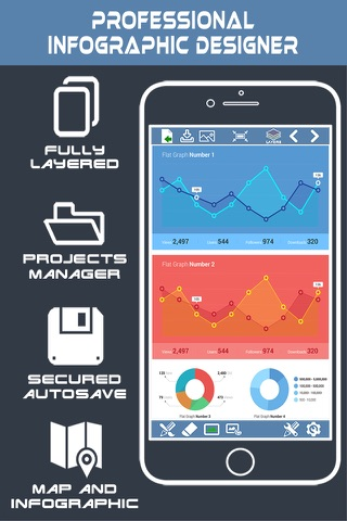 InfoGraphic and Poster Creator - náhled