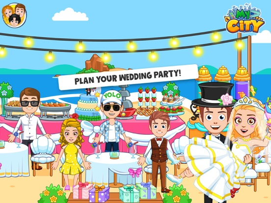 My City : Wedding Party screenshot 8