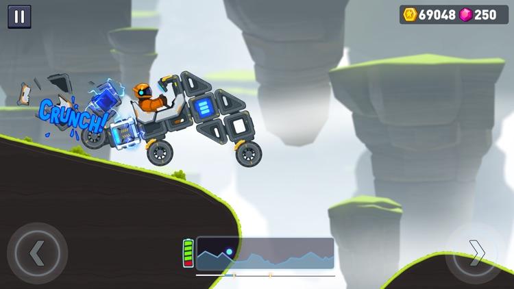 Rovercraft 2 Race a space car screenshot-3