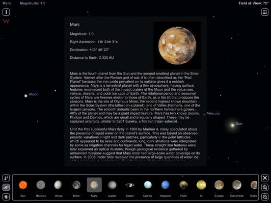 Star Rover HD - Night Sky Map Screenshots