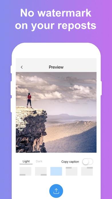 Reposter for Instagram... screenshot