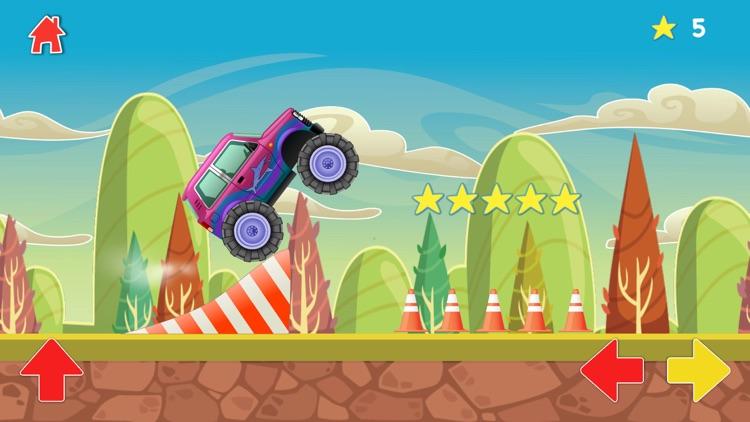 Monster Trucks for Babies Lite screenshot-4