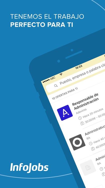 InfoJobs - Trabajo y Empleo screenshot-0