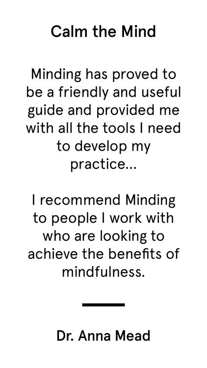 minding - anxiety helper screenshot-5