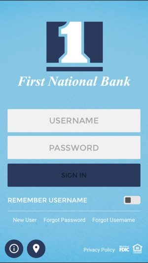 First National Bank Bellevue on the App Store