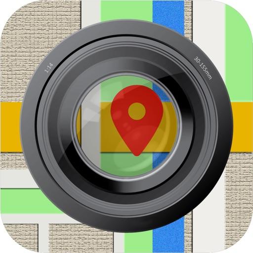 MapCamera: Add Map to Photo