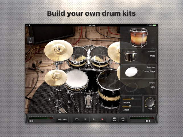 X Drummer: Songwriting Tool Screenshot