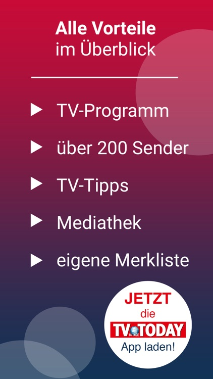 TV Today - Fernsehprogramm screenshot-7