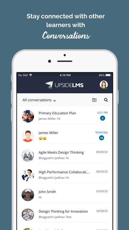 UpsideLMS screenshot-5