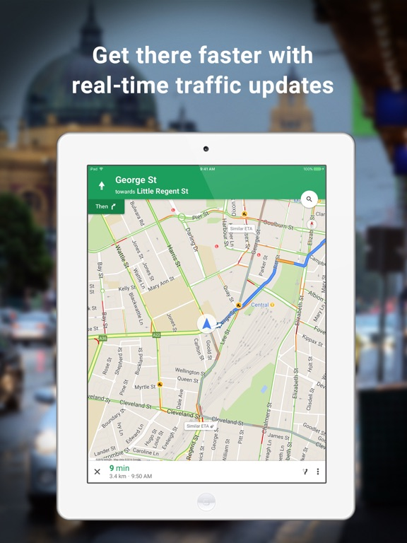 Google Maps - Transit & Food IPA ed for iOS Free Download on animation download free, google maps print free, android download free, 3d street maps free, street map template free, google earth 2012, map clip art free,