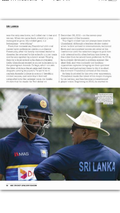 ABC Cricket MagazineScreenshot of 2