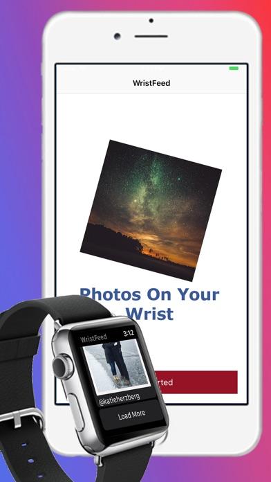 WristFeed for Instagram screenshot 1