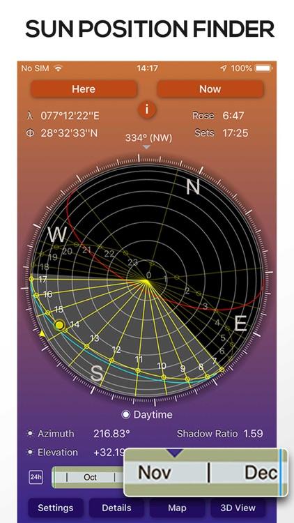 Sun Seeker Sun Tracker Compass screenshot-7