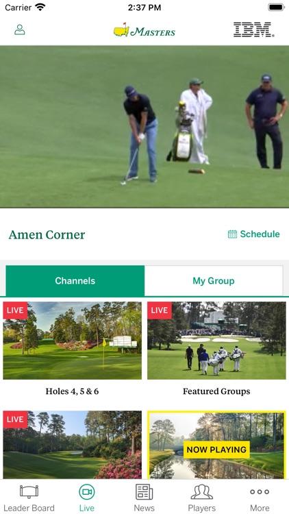 The Masters Tournament screenshot-6