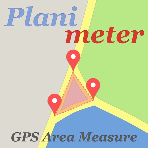 Planimeter - GPS area measure icon