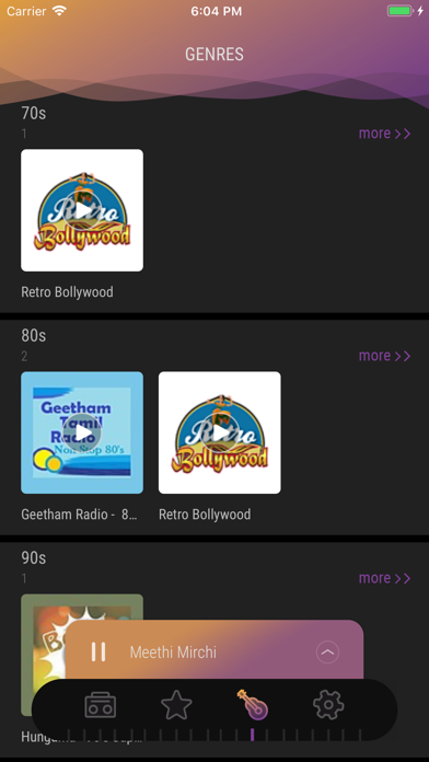 Screenshot for India Radio - Live FM Player in United Arab Emirates App Store