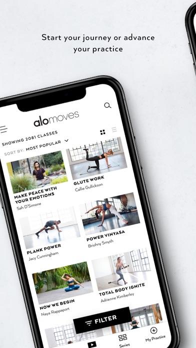 Alo Moves Screenshot