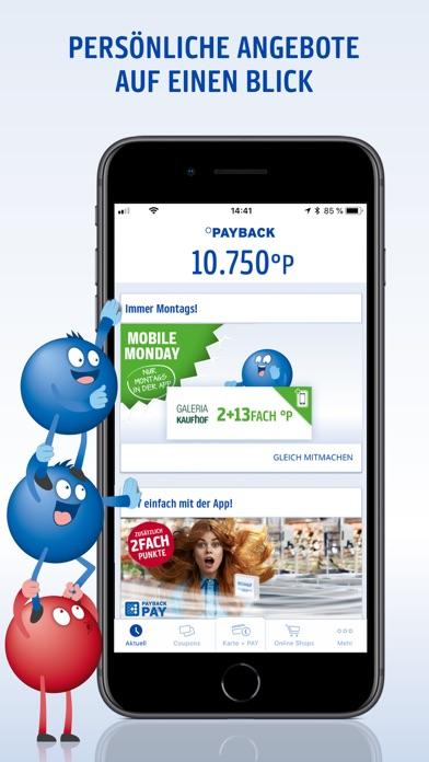 Screenshot for PAYBACK - Karte, Coupons, Geld in Germany App Store