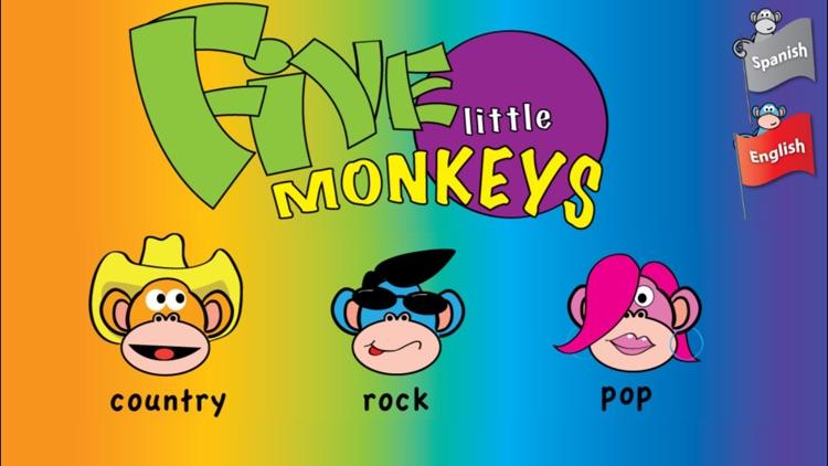 Five Little Monkeys screenshot-0