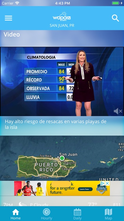 Wapa TV Tiempo screenshot-1