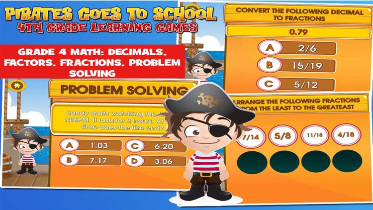 Pirate School: Fourth Grade screenshot-4