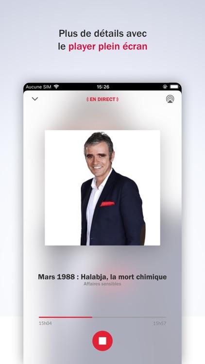 France Inter - radio, podcasts screenshot-4