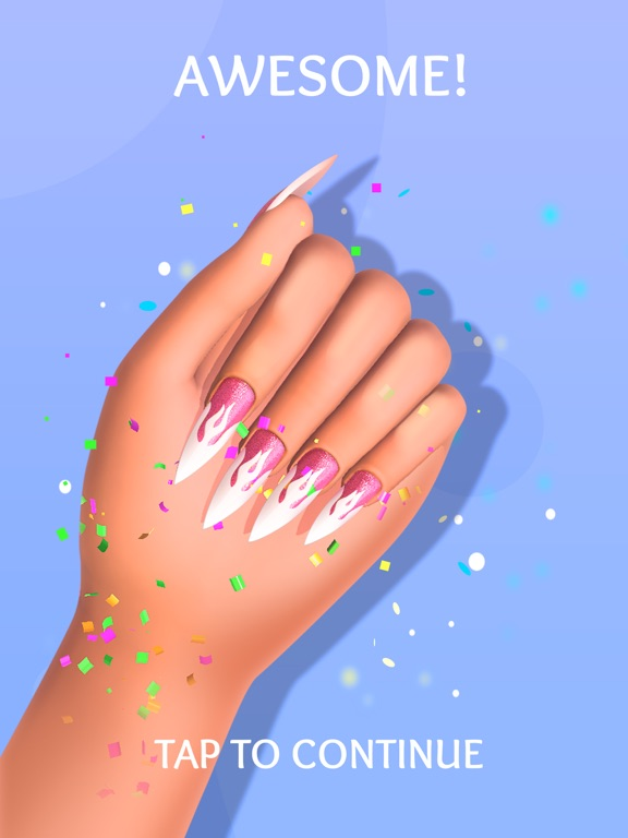 Ongles acryliques