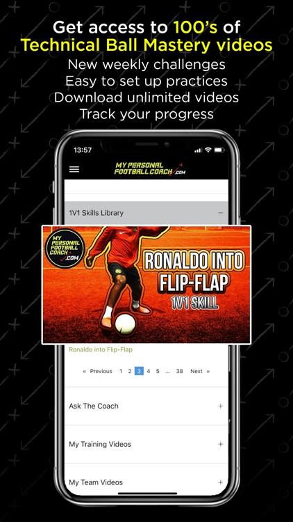 MyPersonalFootballCoach screenshot-3