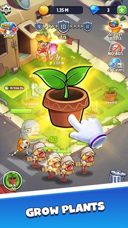 Merge Plants - Monster Defense screenshot-3