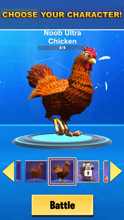 Chicken Challenge 3D Royale