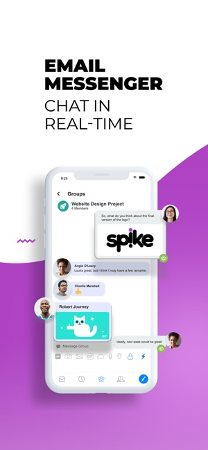 Spike: E-Mail & Messenger Screenshot