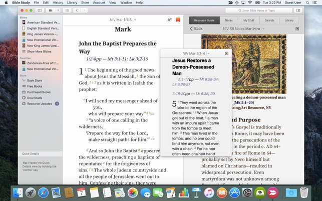free bible download for mac computers