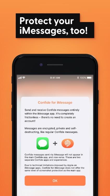 Confide - Private messenger screenshot-4