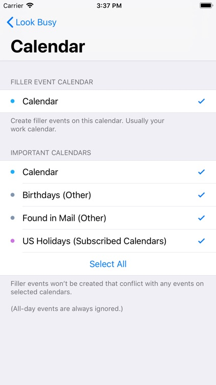 #LookBusy Fake Calendar Events screenshot-6