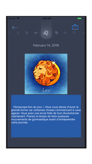Screenshot for Horoscopy in Viet Nam App Store
