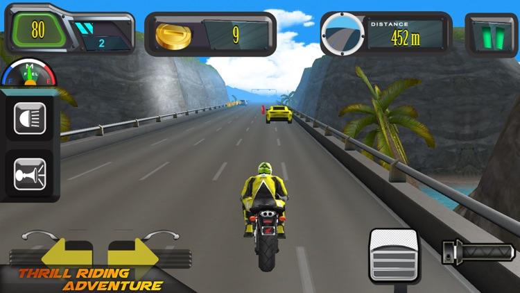 Highway Motorcycle Racing screenshot-8
