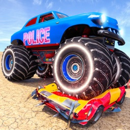 US Police Monster Truck Derby