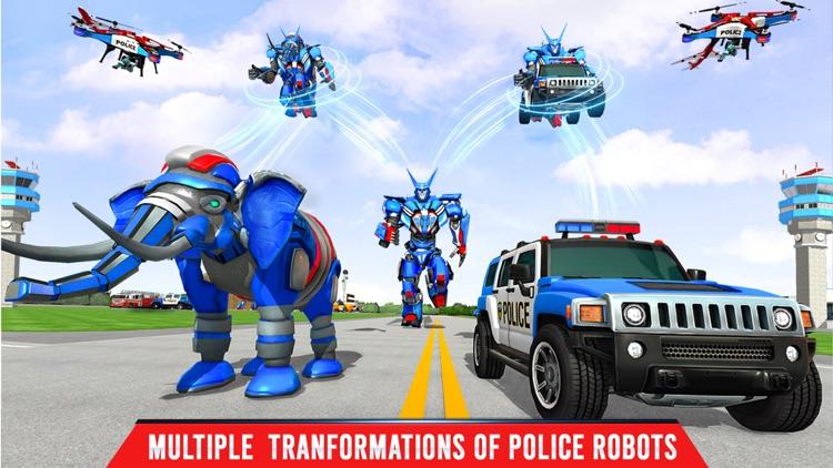 Elephant Robot Transport Game