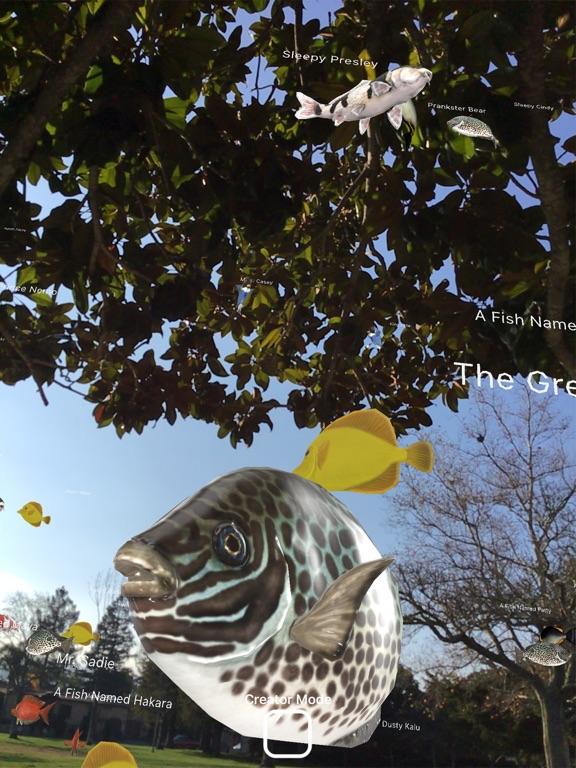 Magic Fish AR screenshot 2