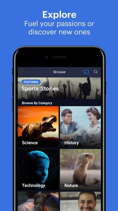CuriosityStream Screenshot