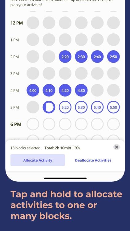 blocos: daily schedule planner screenshot-4