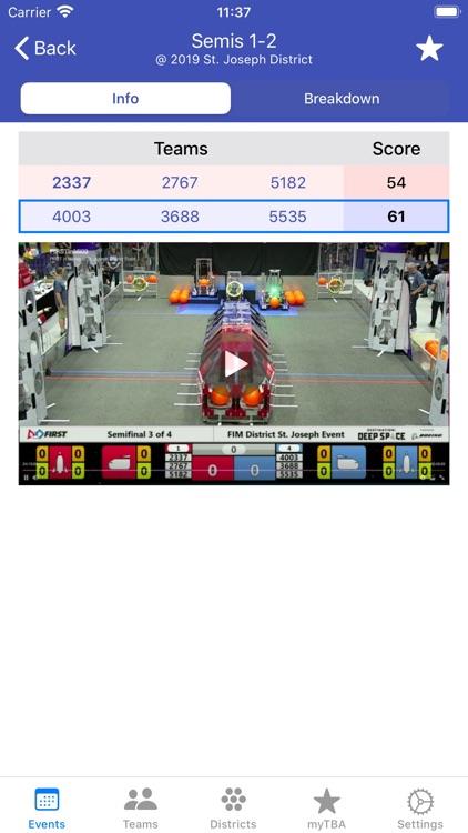 The Blue Alliance screenshot-5