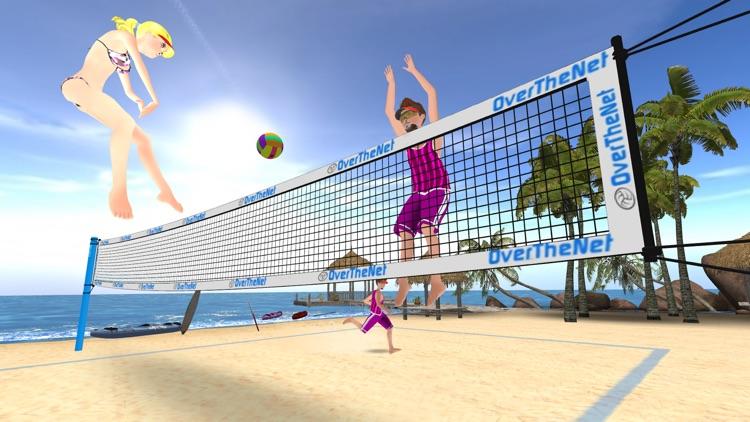 Beach Volleyball OverTheNet screenshot-3