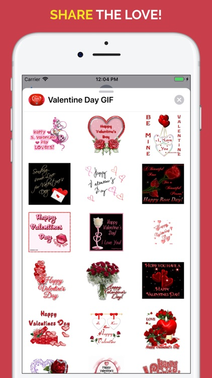 Happy Valentine's Day GIF screenshot-3